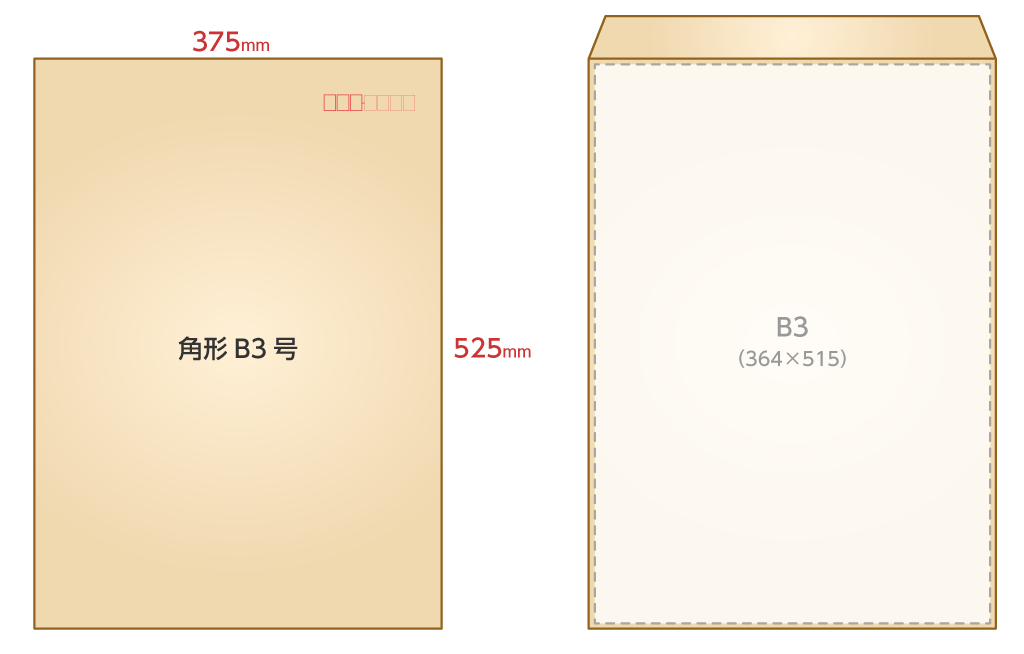 角B3封筒