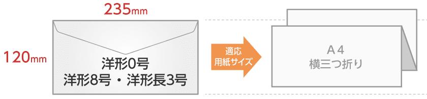 洋0封筒/洋8封筒