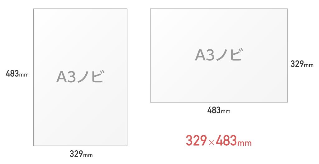 ノビ サイズ a3